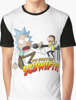 Rick and Morty Get Schwifty Graphic T-Shirt
