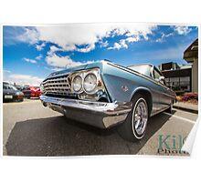 Sunny Day 1962 Chevy Impala Poster