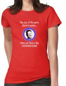 Gary Johnson for President 2016   Big Johnson Womens Fitted T-Shirt
