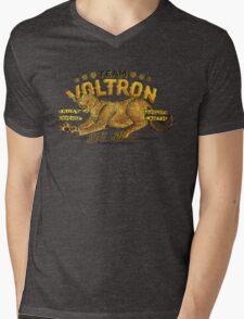 Yellow Paladin Vintage Shirt Mens V-Neck T-Shirt