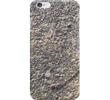 Gravel, Asphault, Concrete, Dirt 05 iPhone Case/Skin