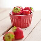 Strawberries by Stephanie Sherman