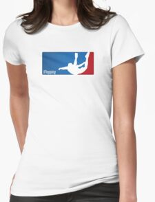 Flopping Womens Fitted T-Shirt