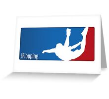 Flopping Greeting Card