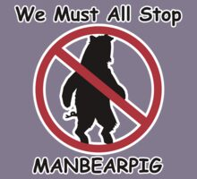 MANBEARPIG Shirt Kids Clothes