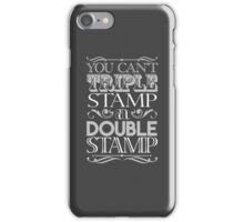Triple Stamp Dark iPhone Case/Skin