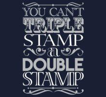 Triple Stamp Dark Kids Tee