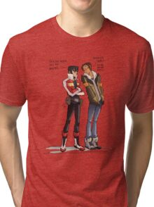 Drunk Lance for all of us! Tri-blend T-Shirt