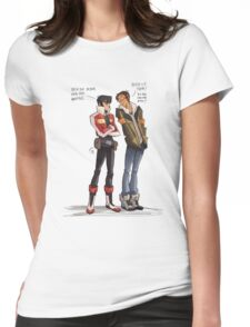 Drunk Lance for all of us! Womens Fitted T-Shirt