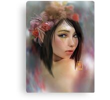 Dalish Elf Girl Canvas Print