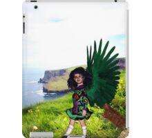 Little Irish Dancer Angel - Beginning the Dance iPad Case/Skin