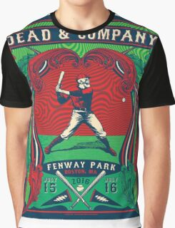 D & CO, Summer Tour 2016 Fenway Park Boston MA Graphic T-Shirt