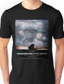 Saving Private Harambe  Unisex T-Shirt