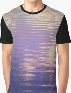 Water Relecting  the Sky Graphic T-Shirt