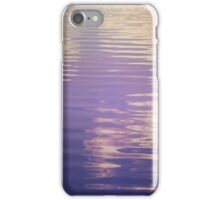 Water Relecting  the Sky iPhone Case/Skin