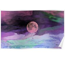 Moon River-  Art + Products Design  Poster