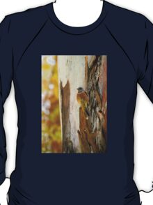 Bluebird Blending In On A Fall Day T-Shirt