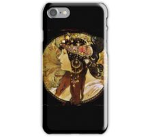 Byzantine Head of a Woman iPhone Case/Skin