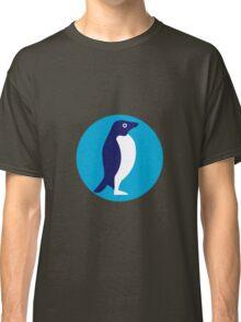 Adelie Penguin Circle Retro Classic T-Shirt