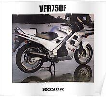 HONDA RC24 VFR750F TRIBUTE Poster