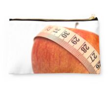 tape measure wrapped around an apple  Studio Pouch