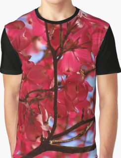 Pink Dogwood Graphic T-Shirt