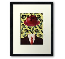 Tribute to MAGRITTE Framed Print