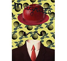 Tribute to MAGRITTE Photographic Print
