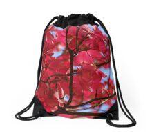 Pink Dogwood Drawstring Bag