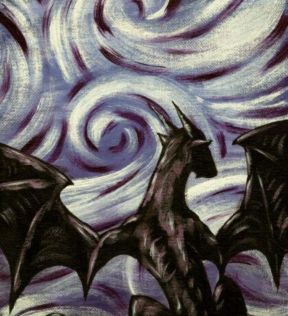 Dark Dragon Sticker