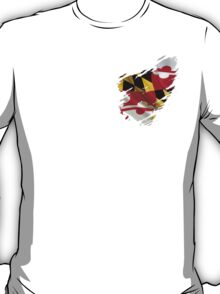 Maryland Flag Tearaway T-Shirt
