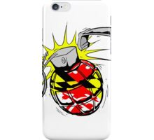 Maryland Flag Grenade iPhone Case/Skin