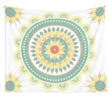 Mother Natures Mandala Wall Tapestry