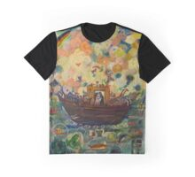 Noah's Ark Fine Art Design Graphic T-Shirt