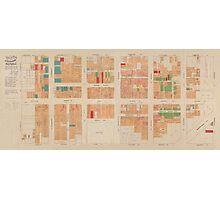 Map Of San Francisco 1885 Photographic Print