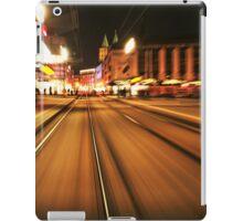 Speedy Night Stripes iPad Case/Skin