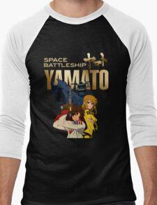 SpaceBattleship Yamato Japan Anime Men's Baseball ¾ T-Shirt