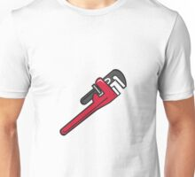 Pipe Wrench Retro Unisex T-Shirt