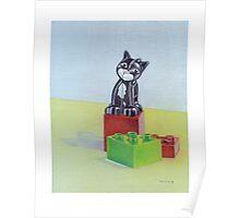 Duplo cat Poster