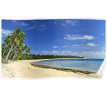 Tonga Beach Poster