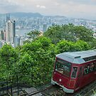 Hong Kong Mountain Tram by Paul Campbell  Photography