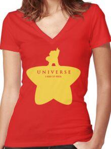 A Beach City Musical  Women's Fitted V-Neck T-Shirt