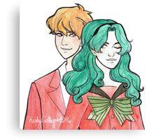 Michiru & Haruka Canvas Print
