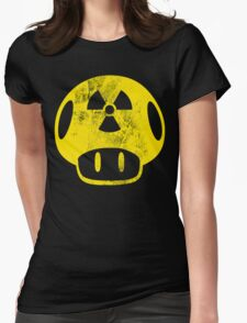 Nuclear Mushroom Womens Fitted T-Shirt