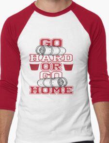 Go Hard Or Go Home Men's Baseball ¾ T-Shirt