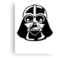 Lord Vader - Fashion Leader of the Galaxy Canvas Print