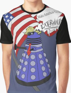 Dalek Trump Graphic T-Shirt