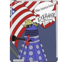 Dalek Trump iPad Case/Skin