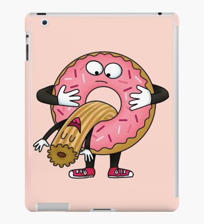 Silly Churro iPad Case/Skin