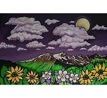 Full Moon Bloom Photographic Print